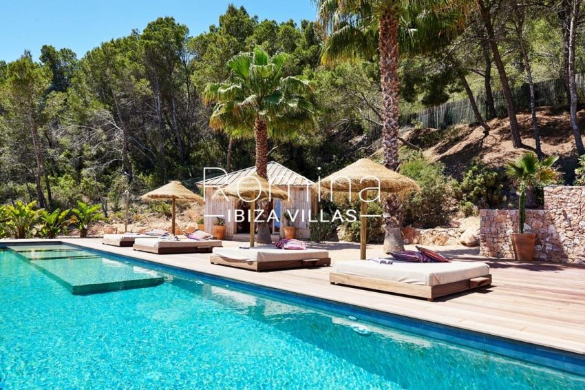 villa adelfa ibiza-2pool terrace 3