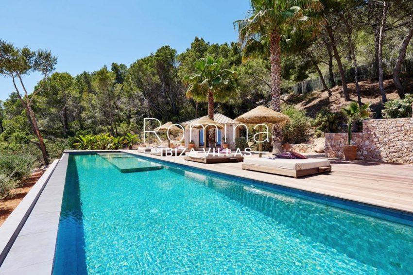 villa adelfa ibiza-2pool terrace2