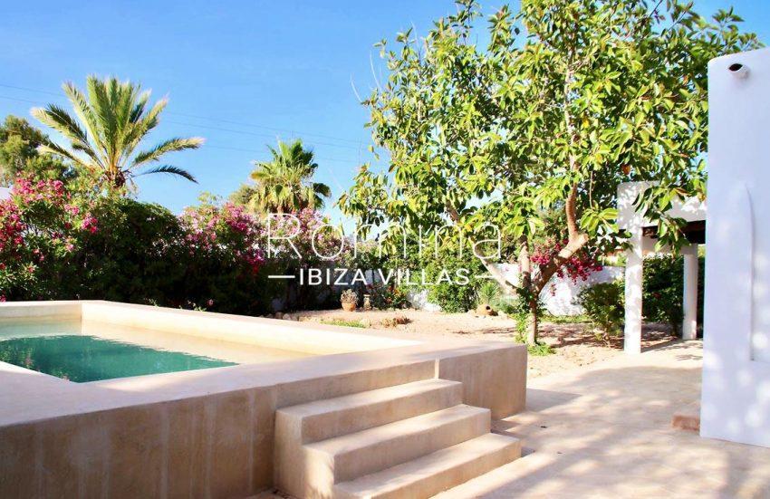 villa amnis ibiza-2pool garden