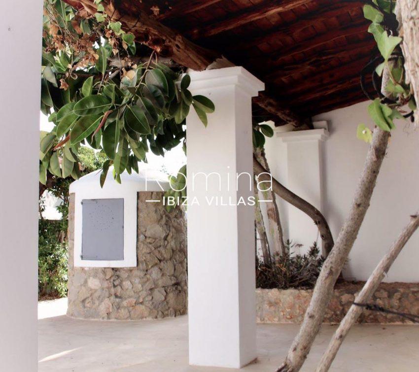 villa amnis ibiza-2porche
