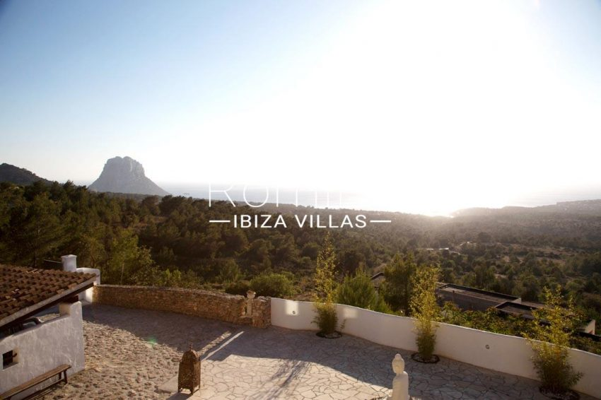 villa illes ibiza-1terrace sea view es vedra2