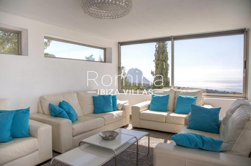 villa illes ibiza-3living room sea view es vedra2