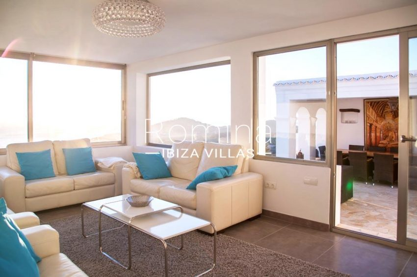villa illes ibiza-3living room terrace