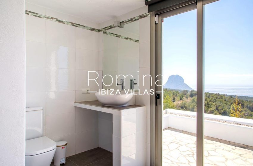 villa illes ibiza-5bathroom sea view es vedra