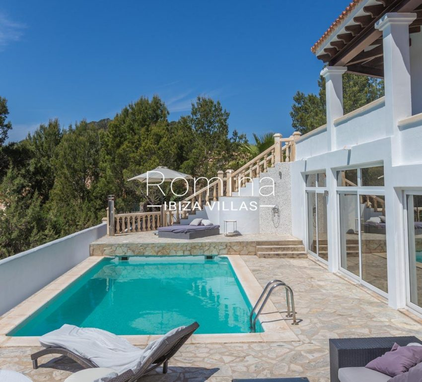 villa lyze ibiza-2pool terrace