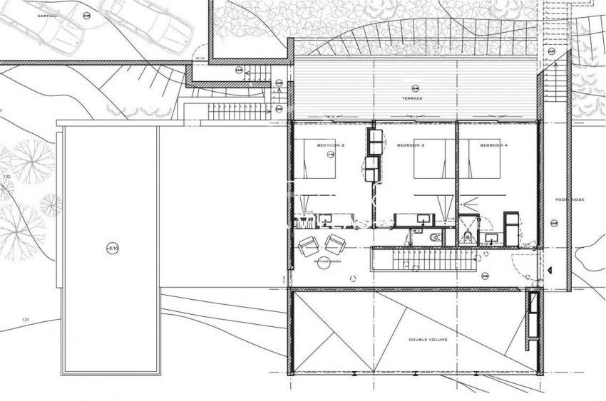 villa miska ibiza-6plan 1st floor