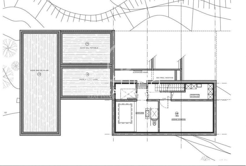 villa miska ibiza-6plan basement