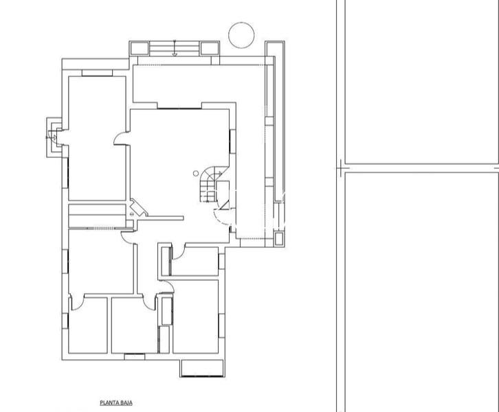 villa portico ibiza-6plan ground floor