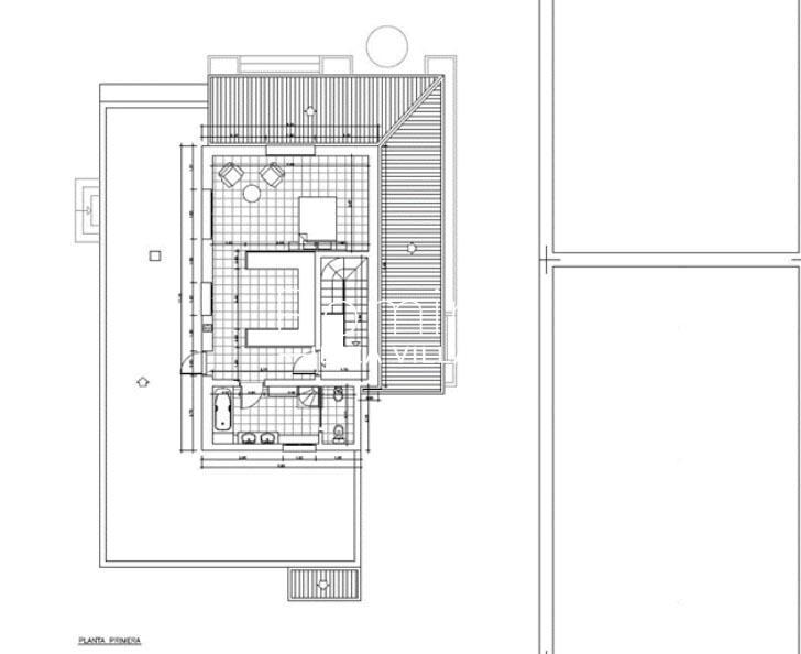 villa portico ibiza-6plan1st floor