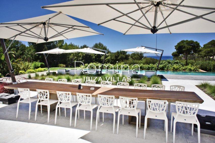 villa vallis ibiza-2pool dininga rea2