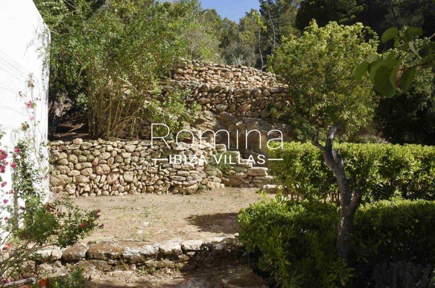 finca bridie ibiza-2garden terrace stone stairs