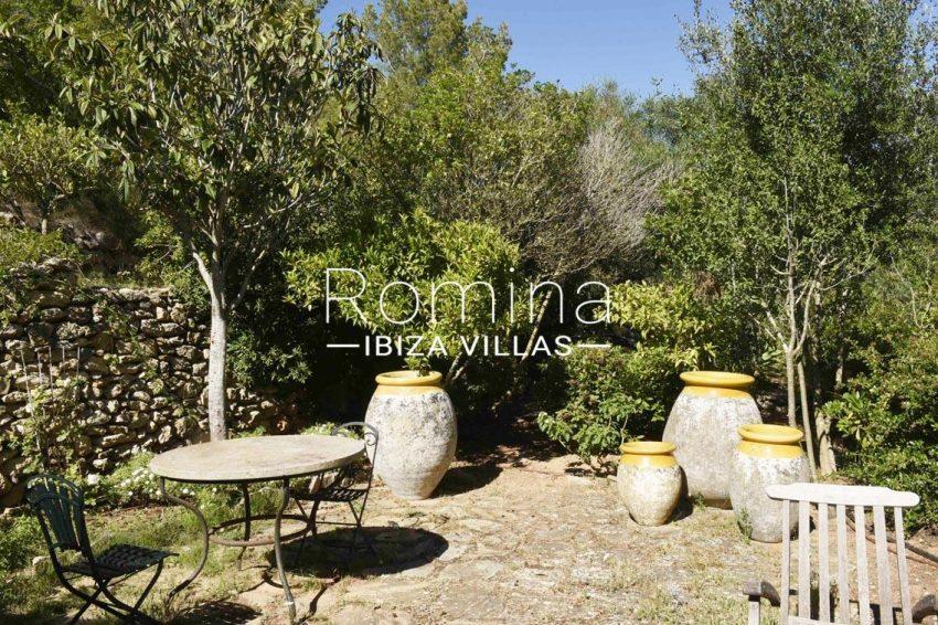 finca bridie ibiza-2terrace garden