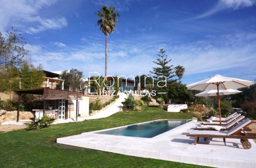 finca las palmeras ibiza-2pool pool house bar