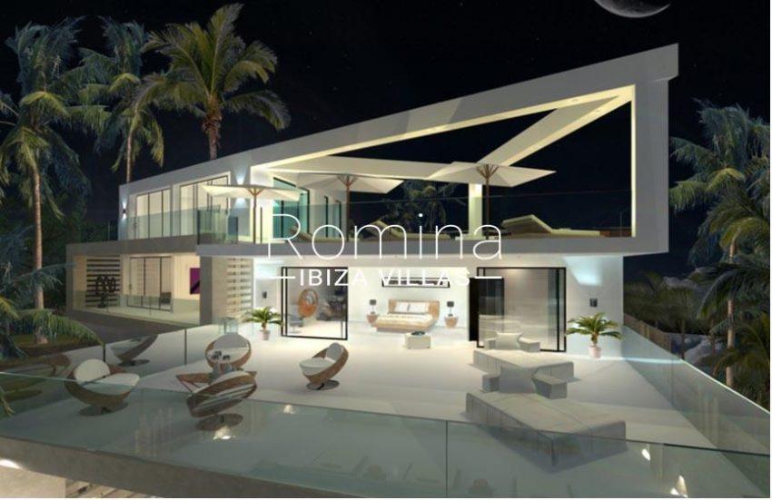 proyecto cap martinet ibiza-2facade terrace