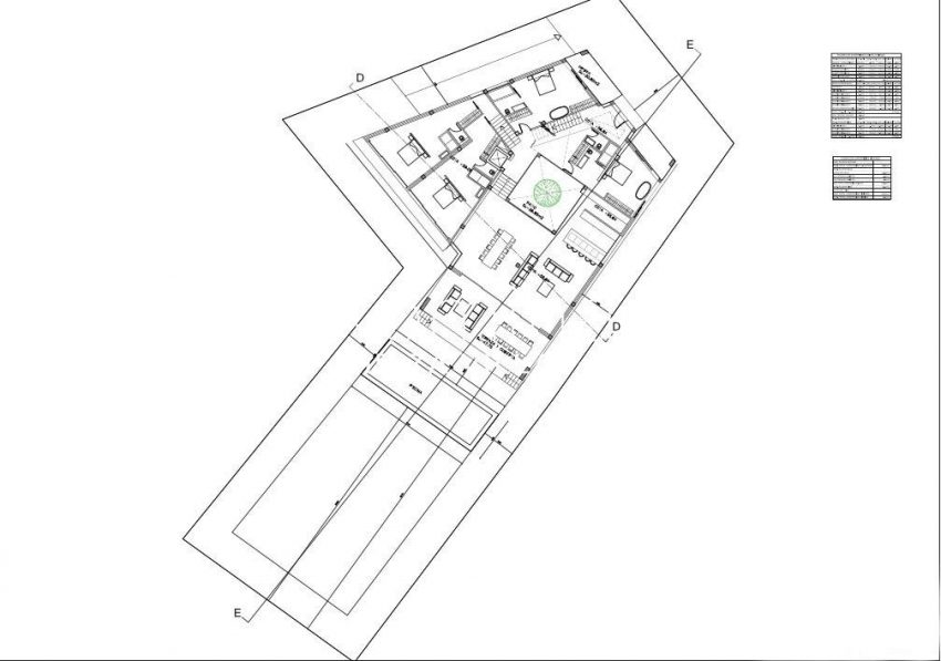 proyecto cap martinet ibiza-6plan plot with house