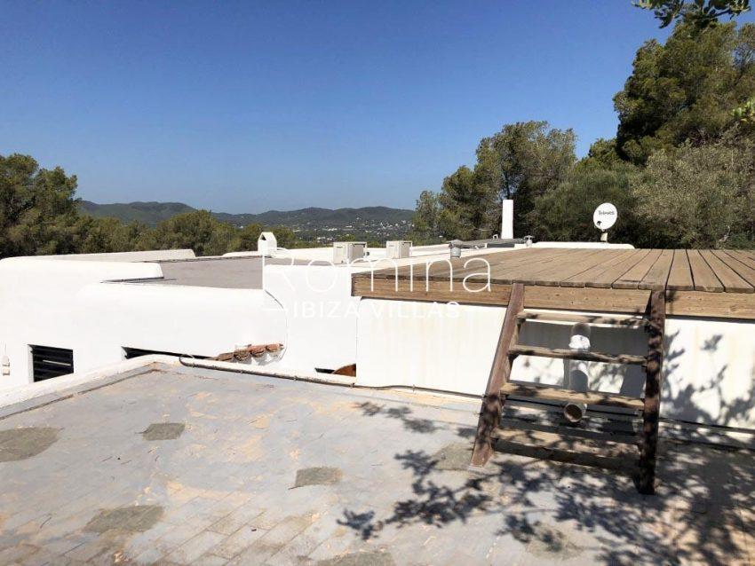 villa berro ibiza-2roof terrace
