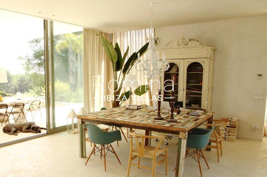 villa design ibiza-3dining area