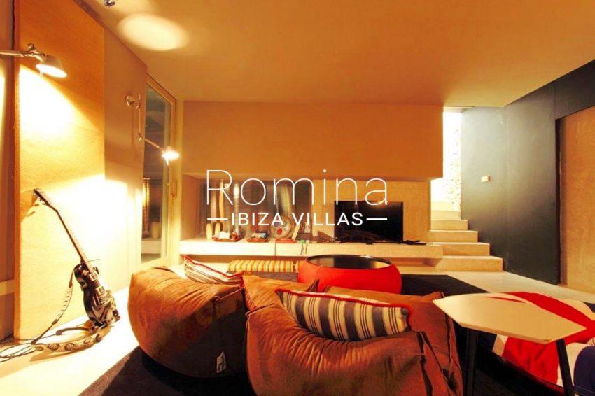 villa design ibiza-3tv room