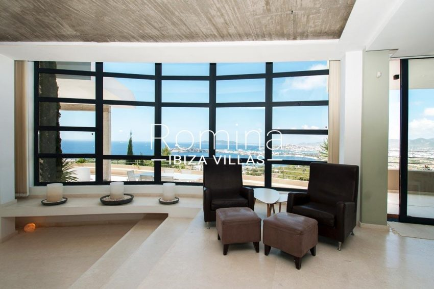 villa papirum ibiza-3living room small sea view