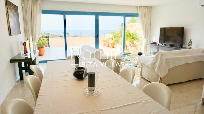 adosado solis ibiza-3living dining room sea view