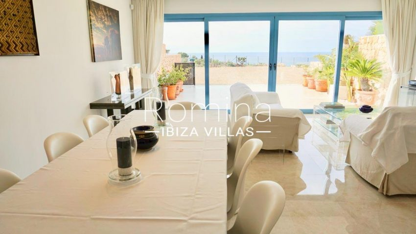 adosado solis ibiza-3living dining room sea view2
