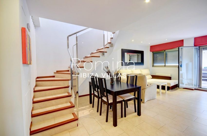 duplex ciudad ibiza-3living dining room