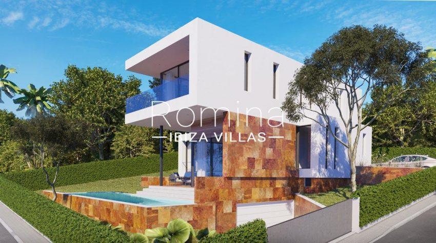 proyecto villa ima ibiza-2facade front side