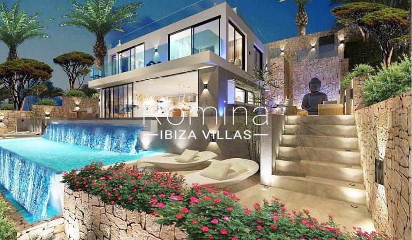 proyecto villa moderna ibiza-2facade