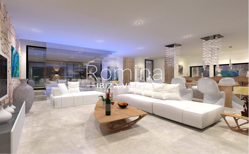 proyecto villa moderna ibiza-3living room