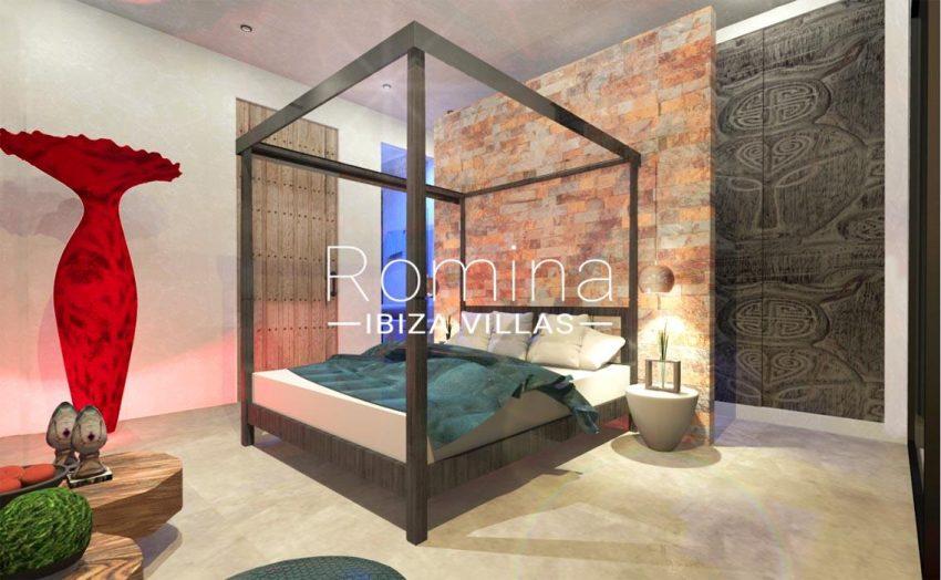 proyecto villa moderna ibiza-4bedroom