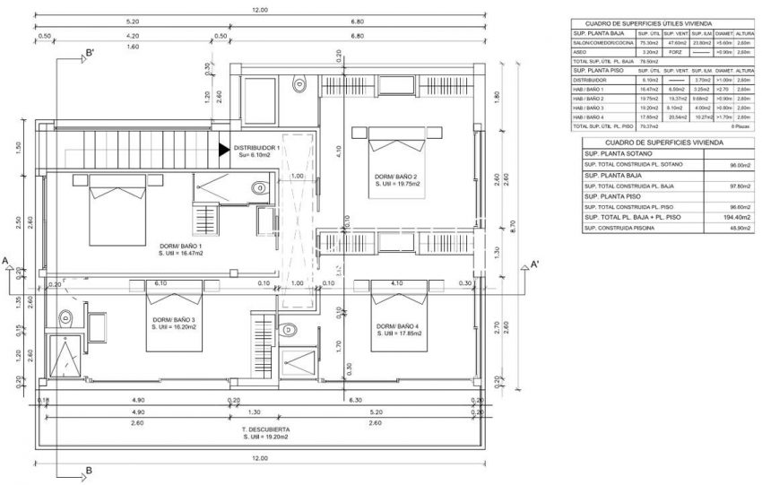 proyecto villa moderna ibiza-61st floor plan