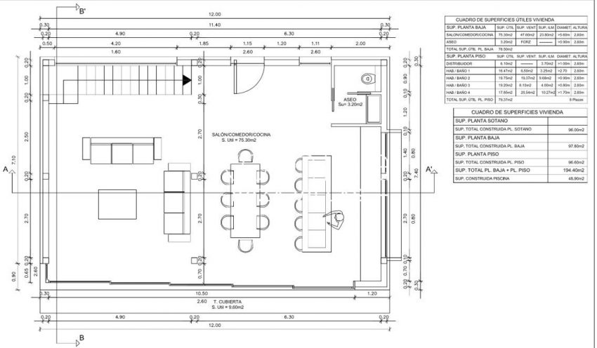 proyecto villa moderna ibiza-6ground floor plan