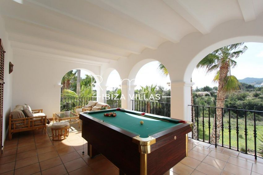 villa alix ibiza-2terrace billiard