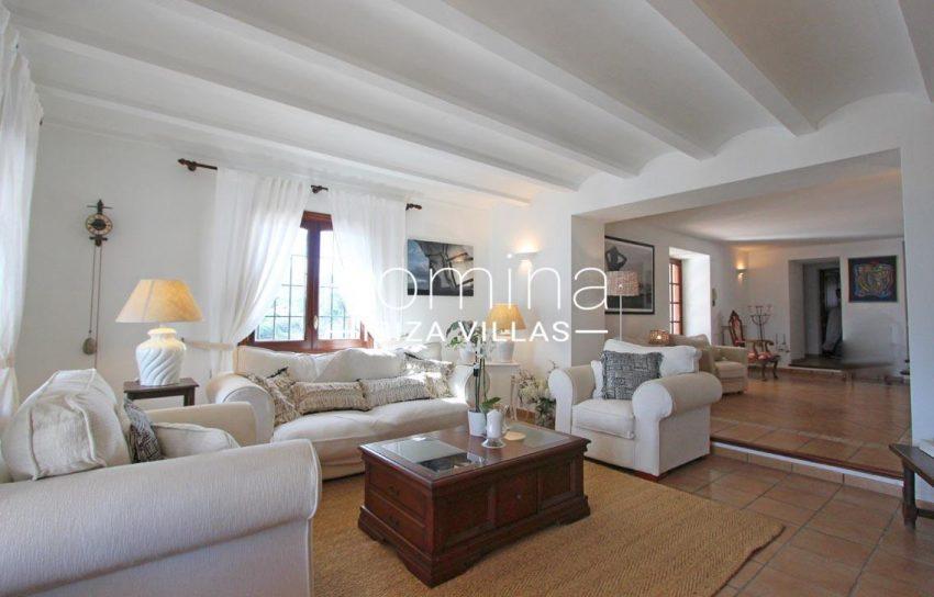 villa alix ibiza-3living room