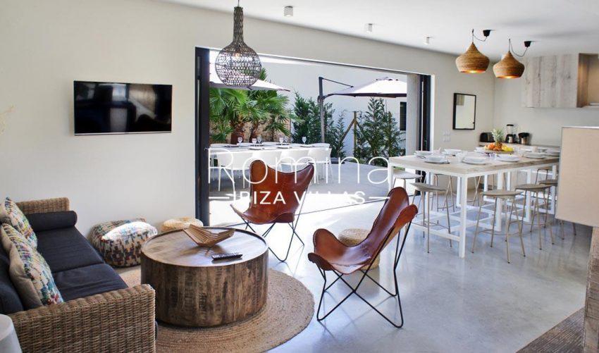 villa ambar ibiza-3living dining room