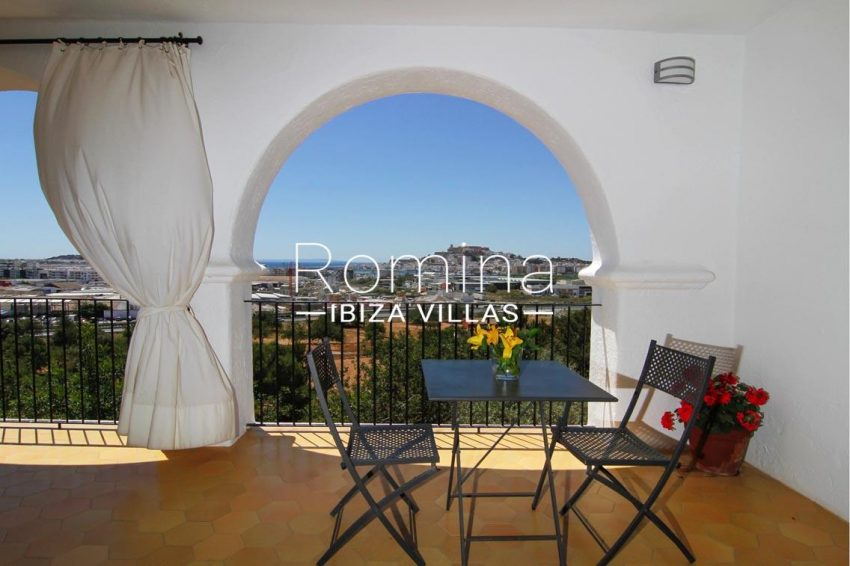 villa begonia ibiza-1upstairs terrace view dalt vila