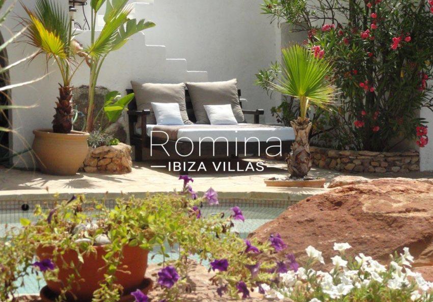 villa iluna ibiza-2pool terrace