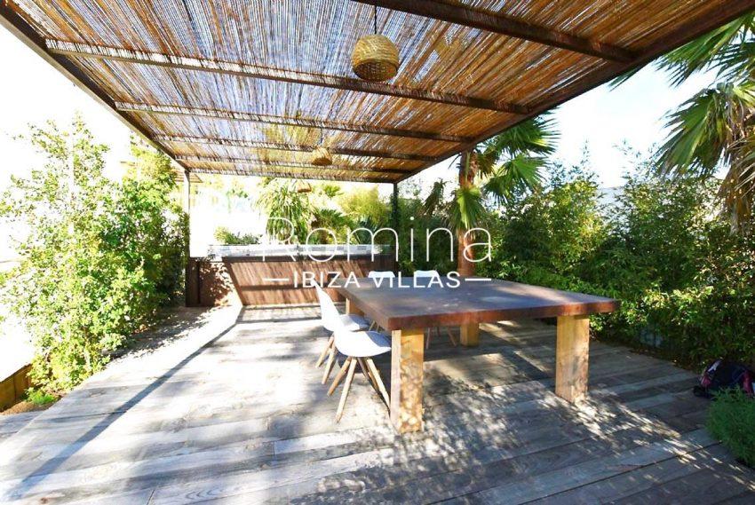 villa maris ibiza-2pergola terrace
