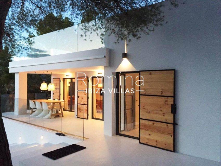 villa sati ibiza-2facade porch terrace