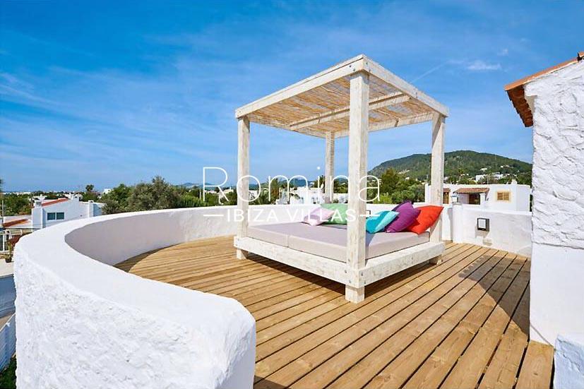 villa tili ibiza-2roof deck chill out