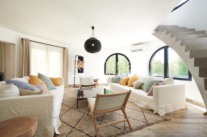 villa tili ibiza-3living room2
