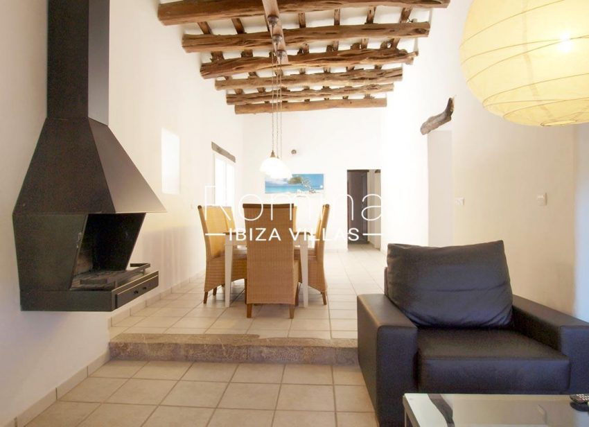casa vergel ibiza-3living dinin room