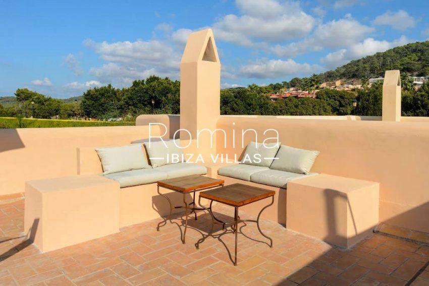 casita moli ibiza-2roof terrace view