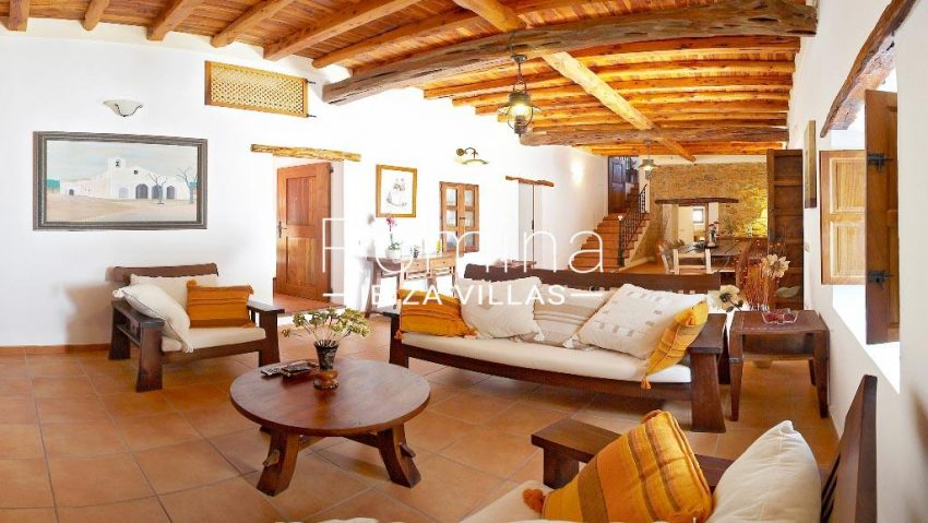 finca kanya ibiza-3living dining room