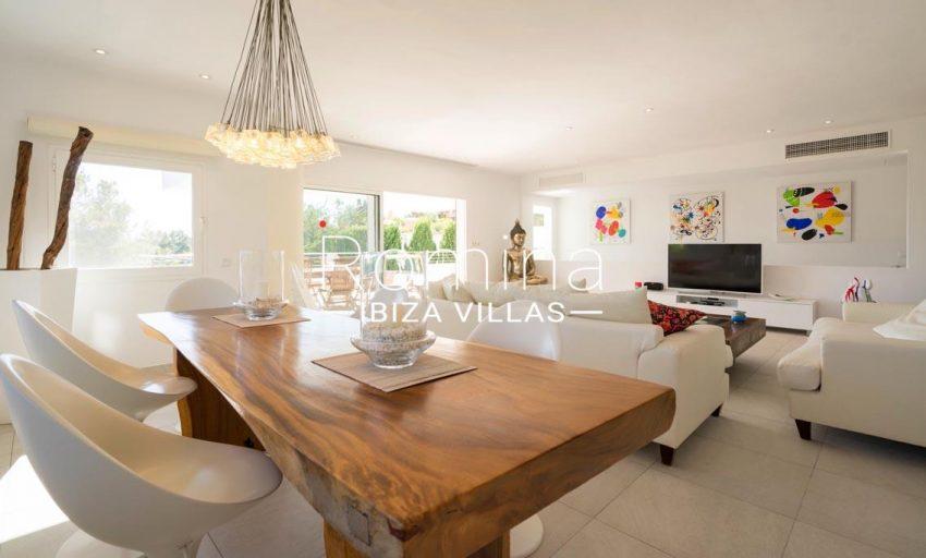 villa jecinda ibiza-3living dining room