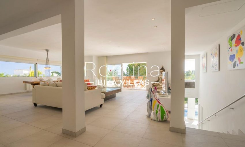 villa jecinda ibiza-3living room