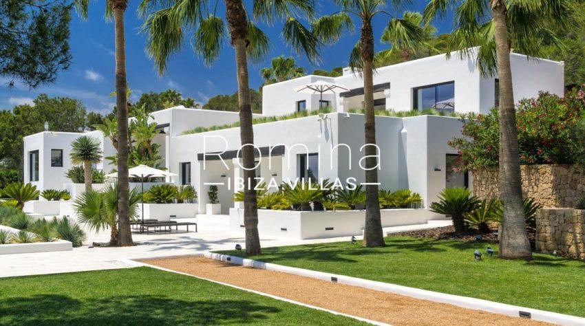 villa mar blau ibiza-2facade garden