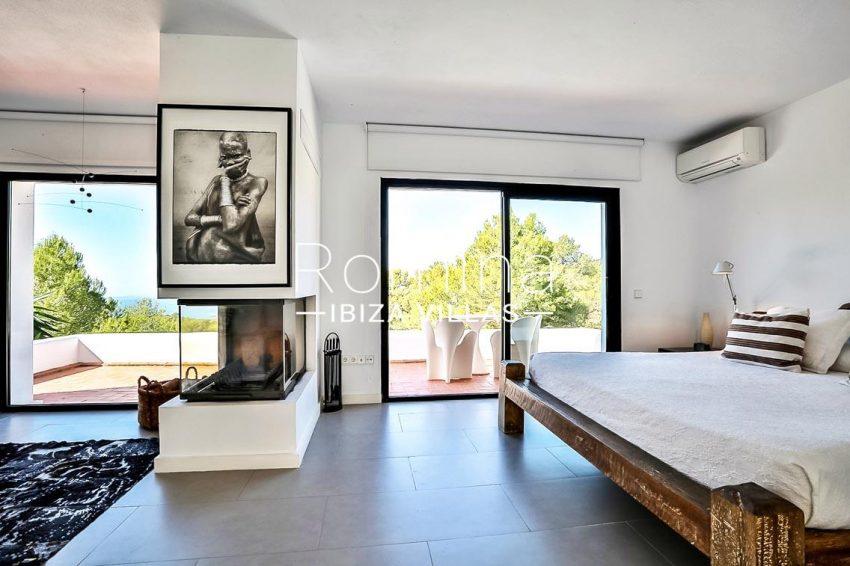 villa pomba ibiza-4master bedroom sea view