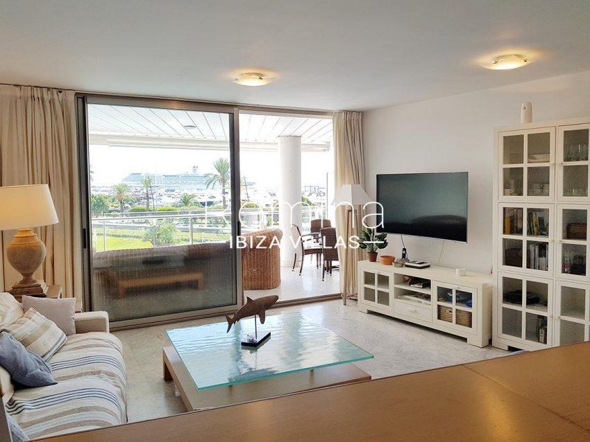 apto miramar paseo 2 ibiza-2living room terrace