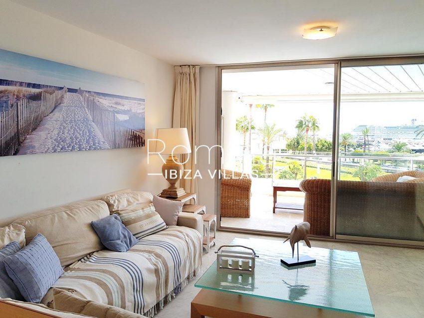 apto miramar paseo 2 ibiza-3living room terrace2